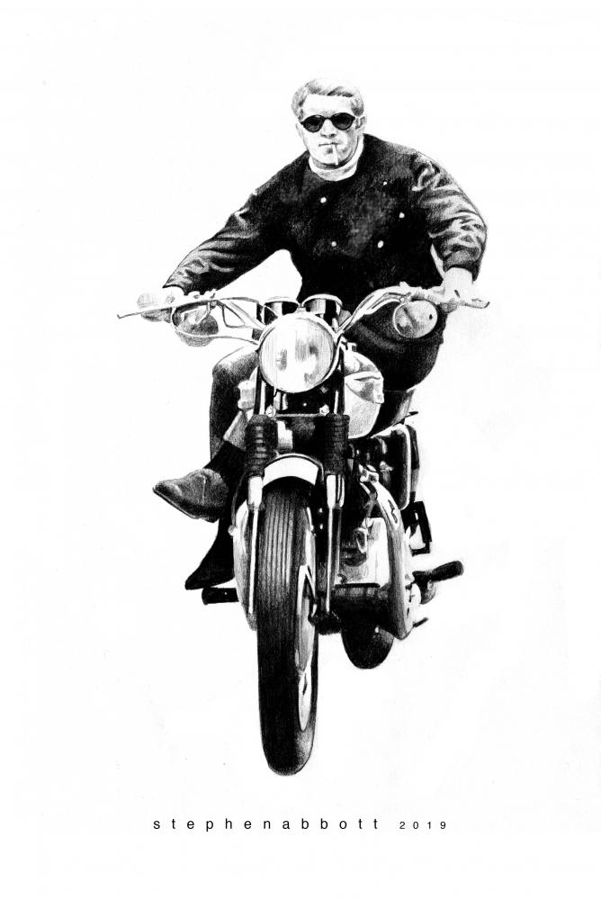 Steve McQueen by StephenAbbott